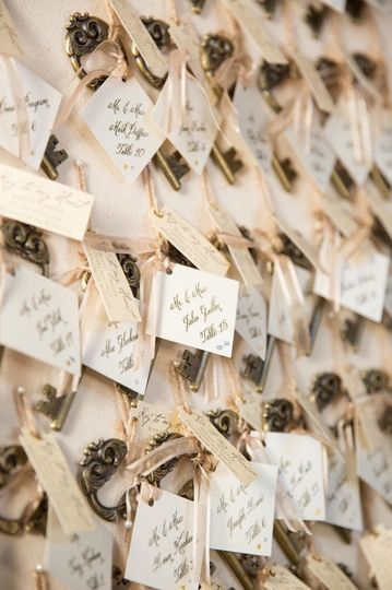 Escort Card Keepsakes