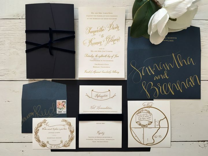 Tmx 1499692850653 Image1 Clovis, CA wedding invitation