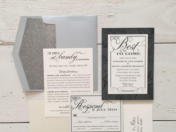 Tmx 1499692855426 Image2 Clovis, CA wedding invitation