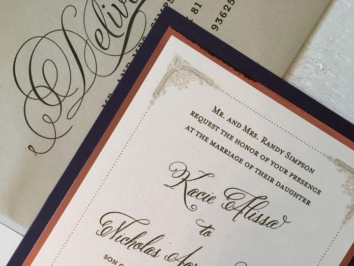 Tmx 1499692875232 Image3 Clovis, CA wedding invitation