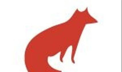Red Ribbon Fox Design