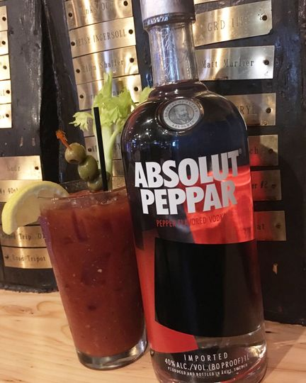 Pepper bloody mary