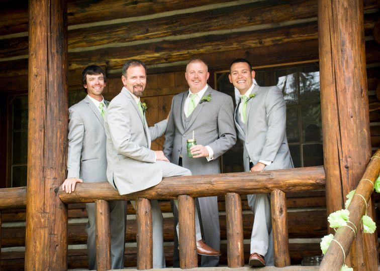 Groomsmen Skylinner Lodge
