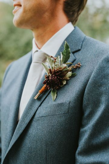 Boutonniere | Amy Donohue Photography