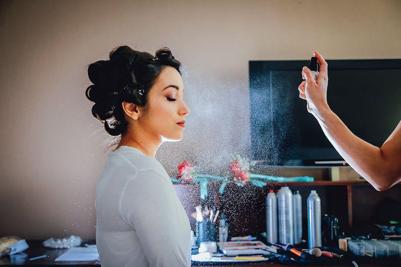 Makeup Finishing spray