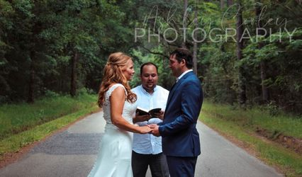 Coastal Elopement wedding officiant