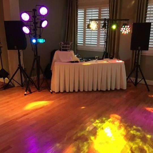 Full dance lighting