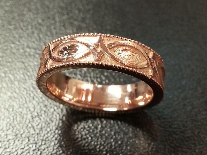 Tmx 1426107769766 Gilmartinrosegold North Liberty wedding jewelry