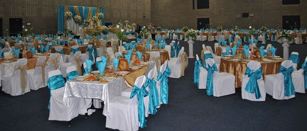 Large weddings up to 600 guests