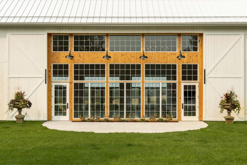White willow barn