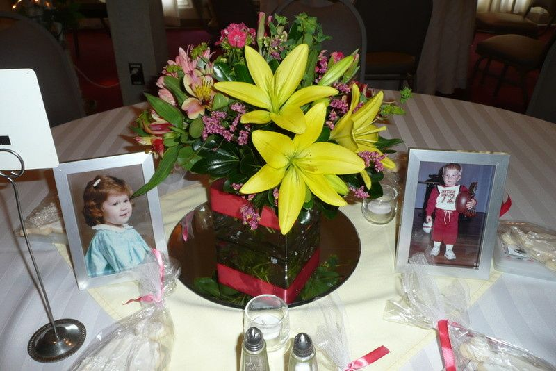 Fresh flower centerpiece