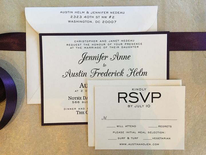Tmx 1496696442972 Img2817 Alexandria, VA wedding invitation