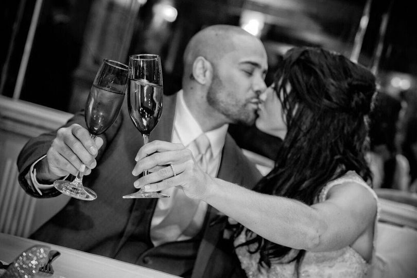 A toast to newlywed life
