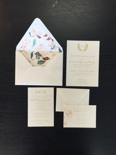 Simple invitation