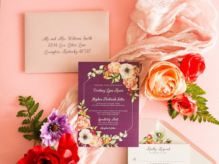 Tmx Seriously Sabrina Photography Lexington Kentucky Simply Done Invites August 2019 014 51 635123 1567708977 Lexington, Kentucky wedding invitation