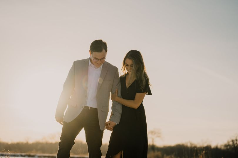 Engagement session in Iowa