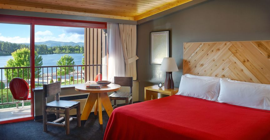 Lake House Guest Rooms