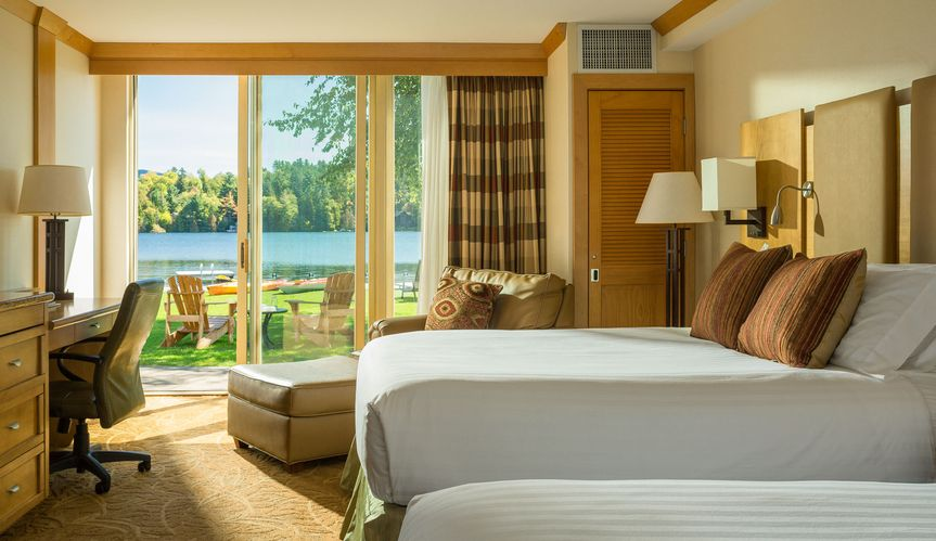 Waterfront Guest Rooms