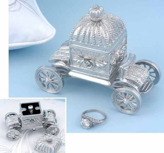 You'll feel like Cinderella when you store your ring inside this fairytale inspired keepsake box....