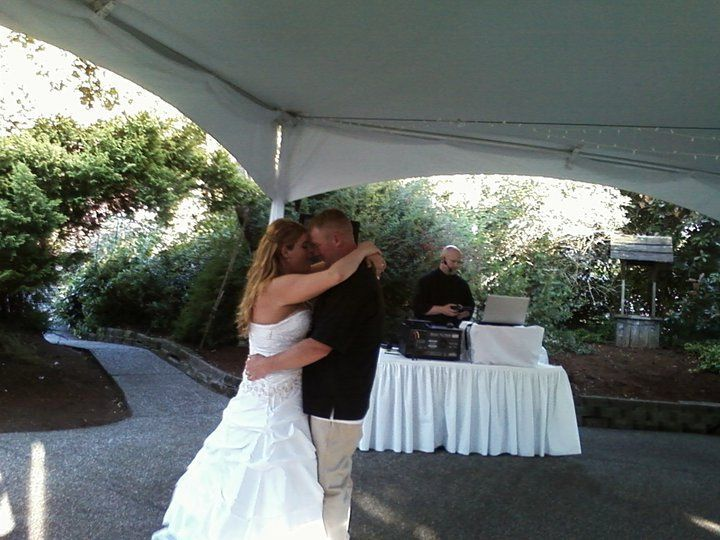 A wonderful couple's first dance.