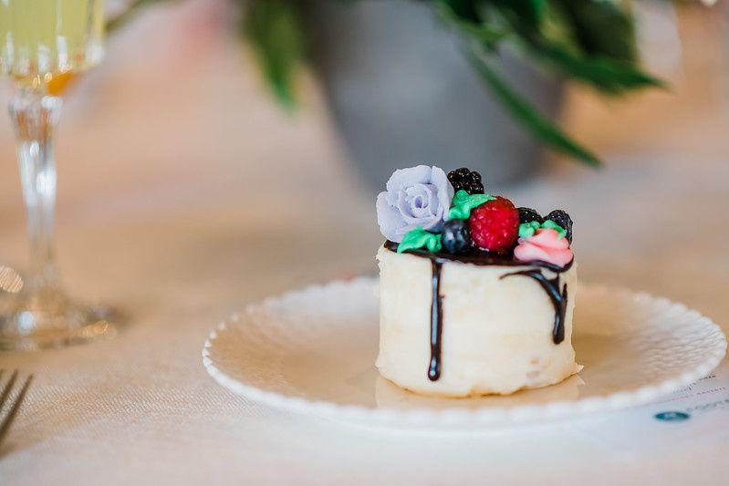 Petite Naked Drip Cake