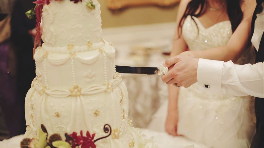 Slicing of the cake