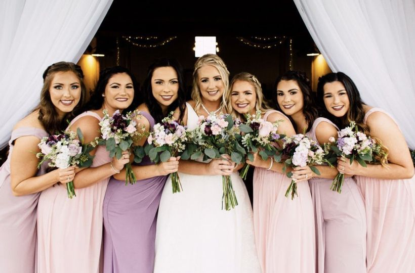 Bridal Party Glam Xo
