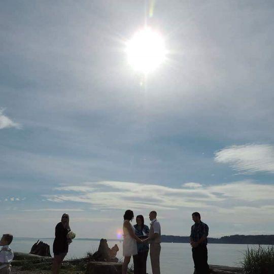 The Wedding Circle in Mukilteo