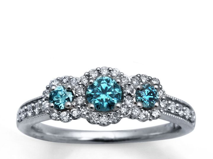 Tmx 1493312899270 Dark Blue Diamond Engagement Rings Dark Blue Diamo Fort Lee wedding jewelry
