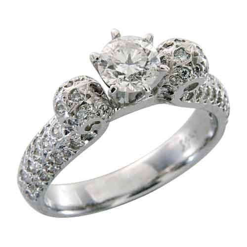 Tmx 1493312973867 Antique Engagement Ring Round Fort Lee wedding jewelry
