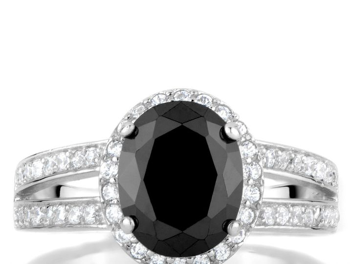 Tmx 1493312995189 Carly S Faux Black Diamond Engagement Ring 3 Carat Fort Lee wedding jewelry