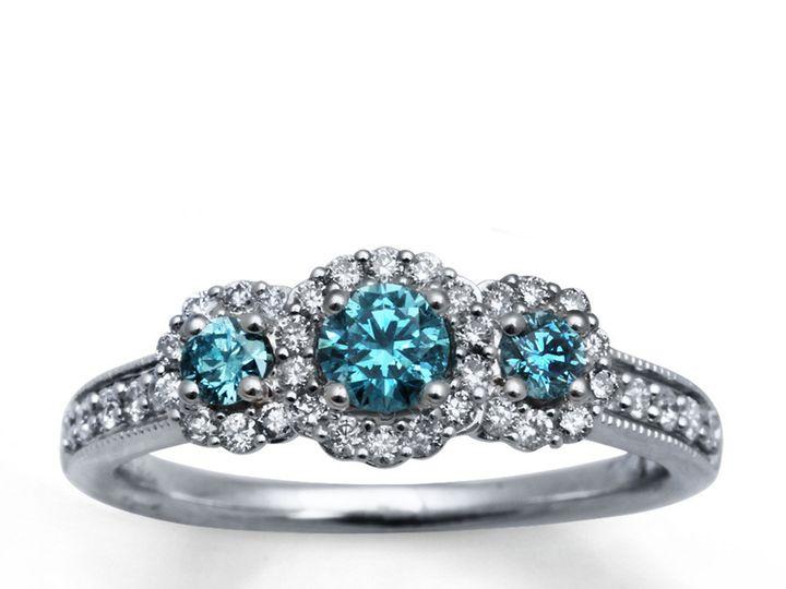 Tmx 1493313014282 Dark Blue Diamond Engagement Rings Dark Blue Diamo Fort Lee wedding jewelry