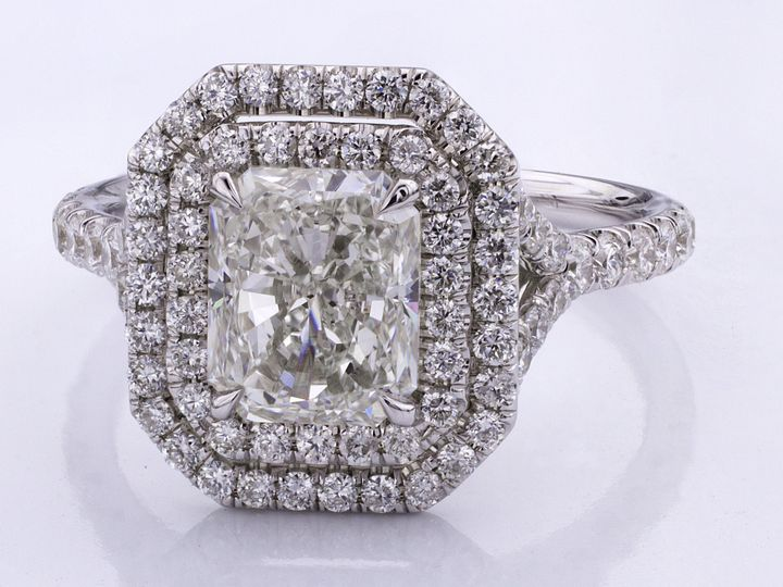 Tmx 1493313064623 Double Halo Engagement Ring Fort Lee wedding jewelry