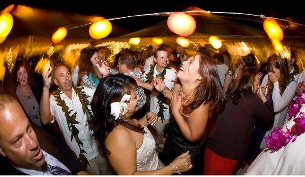 Fun times dancing at the reception! Avila, CA
