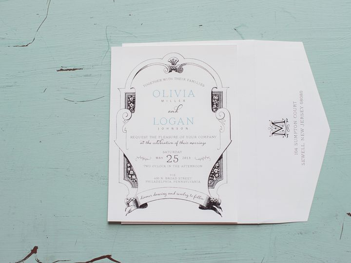 Tmx 1380241867828 Mariamackphotography 0118 Williamstown wedding invitation