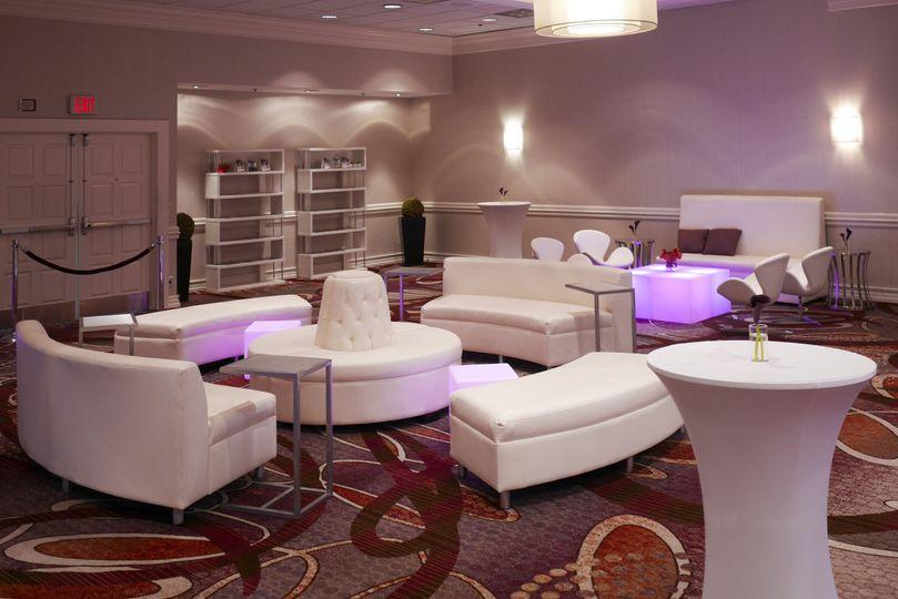 Lounge-style setting