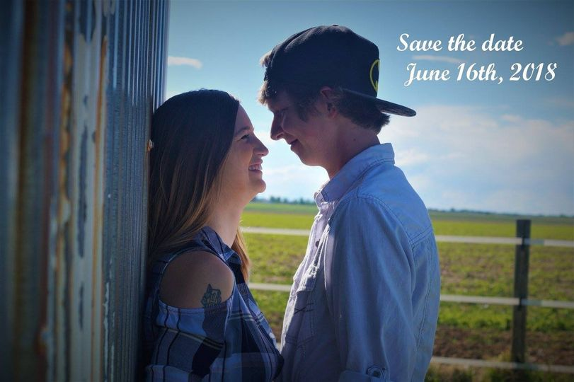 A wedding save-the-date