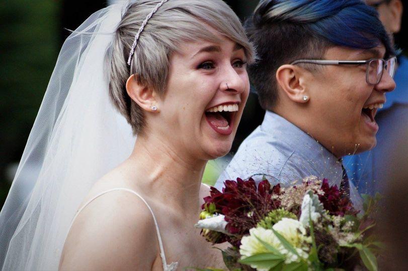 Wedding-day excitement