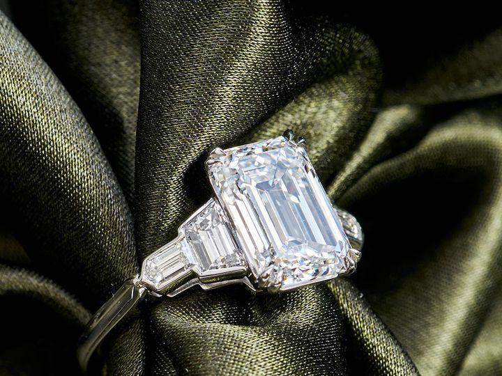 Tmx 1471302840146 Art Deco Ring 3ct Emerald Diamond Victorcanera Can Los Angeles wedding jewelry