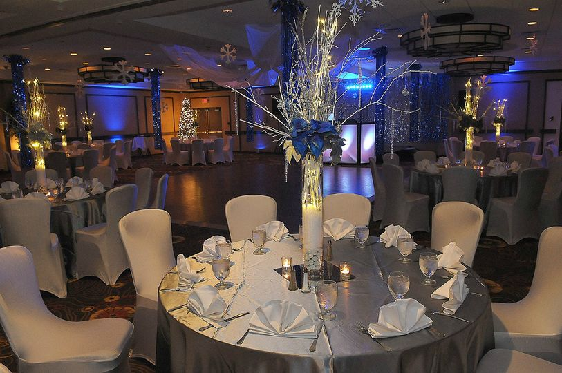 Ballroom and reception hall