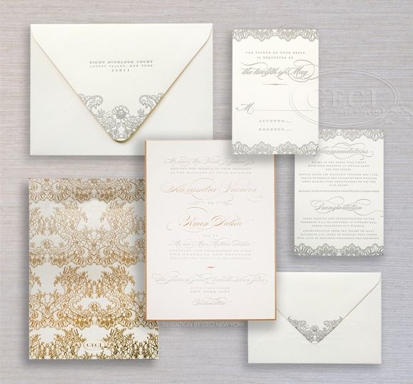 ceci new york invitations new york ny weddingwire