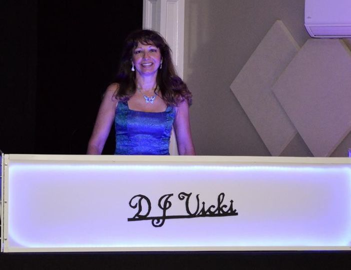 DJ on her station