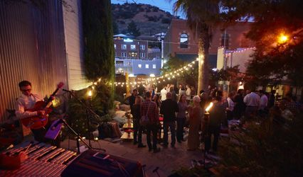 The Courtyard Venue Bisbee Az Weddingwire