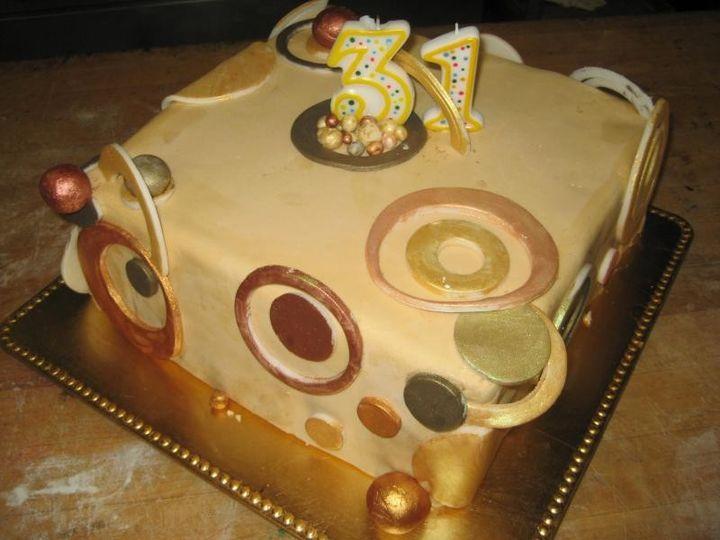 Tmx 1407345066331 31st Birthday Belt, MT wedding cake