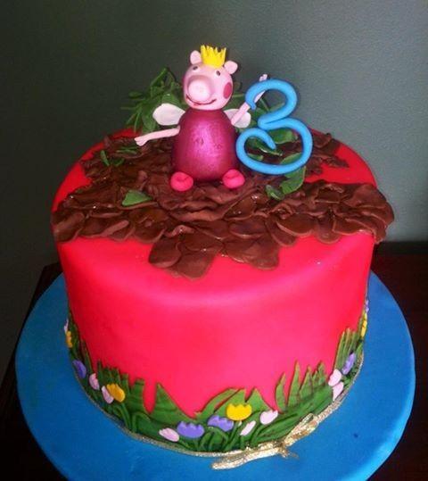 Tmx 1407345181671 Peppa Pig Belt, MT wedding cake