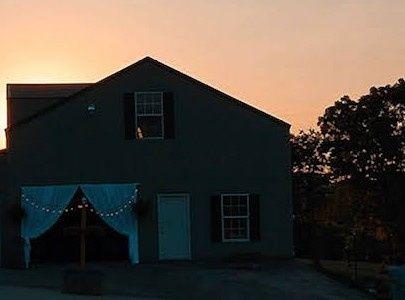 Barn a Sunset