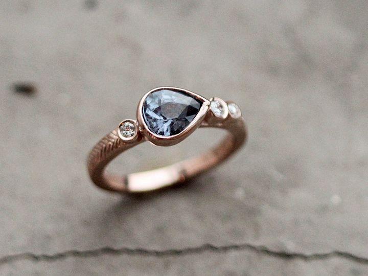 Tmx 1452195752511 Top Blue Spinel Pear  Dias Brooklyn wedding jewelry