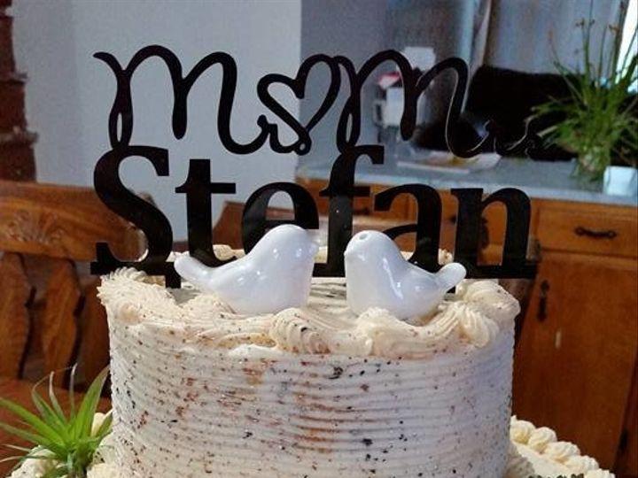Tmx 1504566434660 18056930102029459189270561806511118652039774n Claremont wedding cake