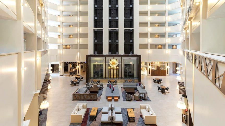 Greatroom - atrium lobby