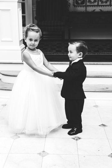 Two cuties dancing
